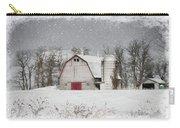Snow Barn Carry-all Pouch