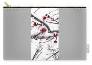 Snow Berry Carry-all Pouch