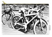 Snow Bicycles Carry-all Pouch