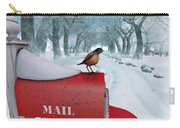 Snow Bird Carry-all Pouch