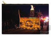 Snow Blower As Float In Shipshewana Light Parade Carry-all Pouch