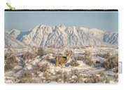 Snow-buck In Wyoming Carry-all Pouch