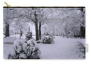 Snow Bush Carry-all Pouch