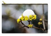 Snow Capped Flower Carry-all Pouch