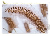 Snow Capped Foxtail Carry-all Pouch