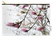 Snow Capped Magnolia Tree Blossoms 2 Carry-all Pouch