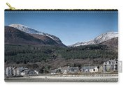 Snow Capped Mourne Mountains Carry-all Pouch