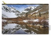 Snow-capped Refections Carry-all Pouch