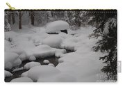 Snow Capret Carry-all Pouch