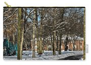 Snow Cleared Road Carry-all Pouch
