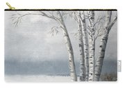 Snow Coming Into The South Shore  Carry-all Pouch