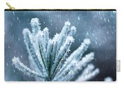 Snow Cover Pine Carry-all Pouch