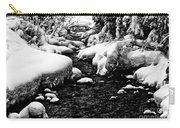 Snow Covered Banks Carry-all Pouch