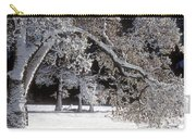 Snow Covered Black Oak Yosemite National Park Carry-all Pouch