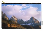 Snow Covered Mountain Range, The Carry-all Pouch