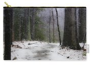 Snow Covered Path Quantico National Cemetery Carry-all Pouch