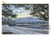 Snow Covered Pines Carry-all Pouch