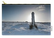 Snow Covered Post II Carry-all Pouch