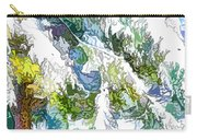 Snow-covered Tree Branch  3 Carry-all Pouch