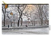 Snow Day On 5th Avenue Carry-all Pouch