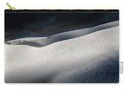 Snow Drift On The Beach Carry-all Pouch