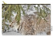 Snow Fall Carry-all Pouch