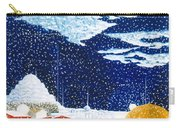 snow falling on Istanbul Carry-all Pouch