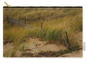 Snow Fence In Sand Carry-all Pouch