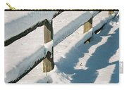 Snow Fence Carry-all Pouch