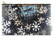 Snow Flakery Wreath 1 Carry-all Pouch