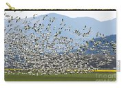 Snow Geese Exodus Carry-all Pouch