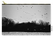 Snow Geese Winter Home In Delaware Carry-all Pouch