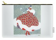 Snow Girl Carry-all Pouch