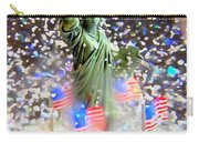 Snow Globe Liberty Carry-all Pouch