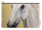 Snow White Horse  Carry-all Pouch