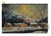 Snow In Bohan Carry-all Pouch