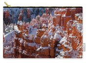 Snow In Bryce Canyon Carry-all Pouch