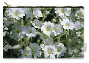 Snow In Summer Flowers Carry-all Pouch