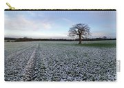 Snow In Surrey Countryside Carry-all Pouch
