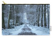 Snow In The Avenue Carry-all Pouch
