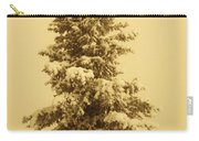 Snow Laden Spruce Carry-all Pouch