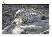 Snow-leopard Carry-all Pouch