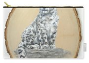 Snow Leopard - Renewed Perception Carry-all Pouch