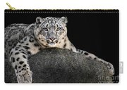 Snow Leopard Xxii Carry-all Pouch