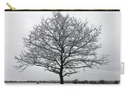 Snow On Epsom Downs Surrey Uk Carry-all Pouch