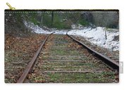 Snow On Rails Carry-all Pouch