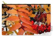 Snow On Scarlet Magick Carry-all Pouch