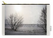 Snow On The Lake Carry-all Pouch