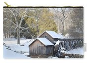 Snow On The Mill Carry-all Pouch