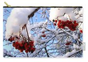 Snow On The Mountain Ash Carry-all Pouch
